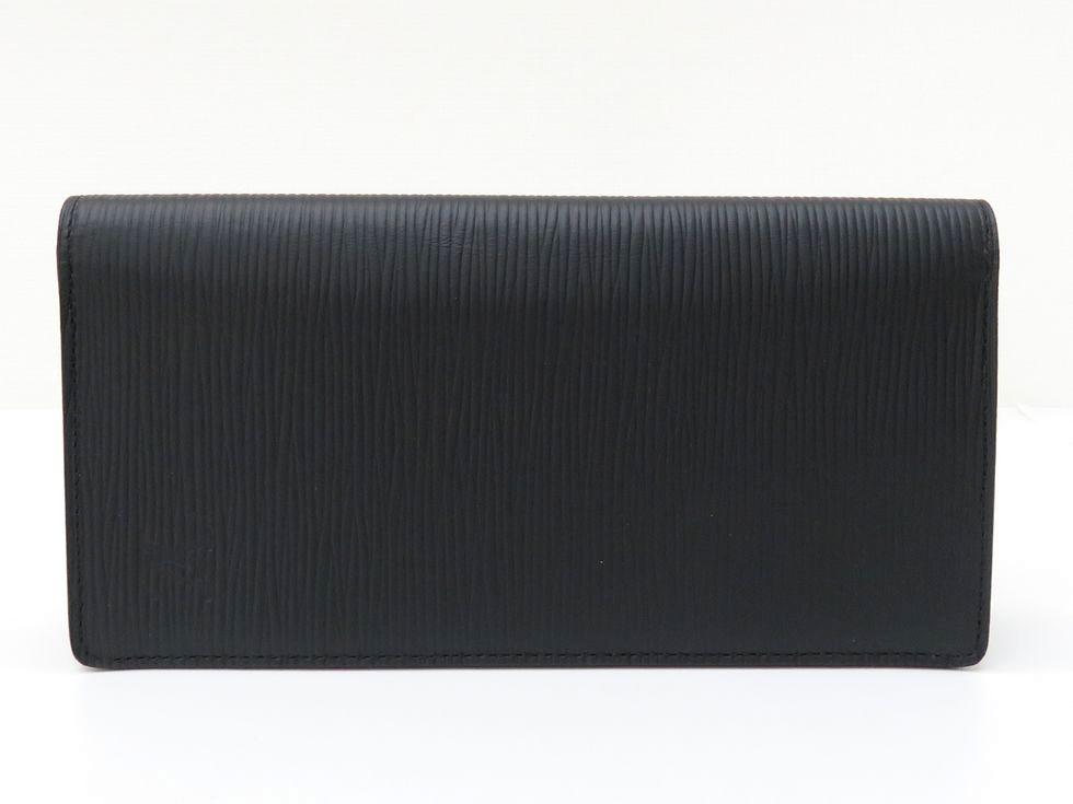 ルイ・ヴィトン M60622 エピ ノワール ポルトフォイユブラザ 二つ折り財布【池袋店】【中古】