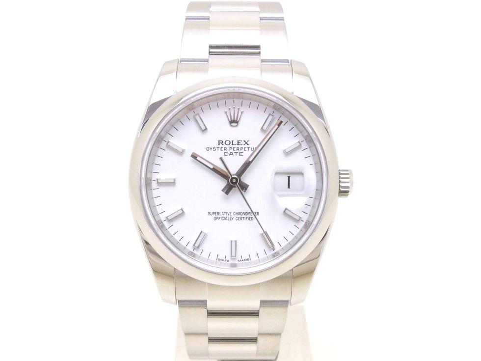 ロレックス 115200 オイスターパーペチュアルデイト ランダム番 SS 自動巻き メンズ 時計 【新宿店】【中古】