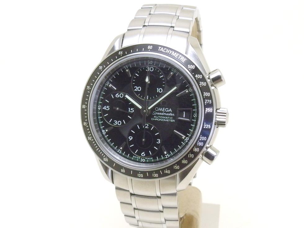 オメガ 3210.50 スピードマスター デイト SS 自動巻き メンズ 時計 【新宿店】【中古】【新着】