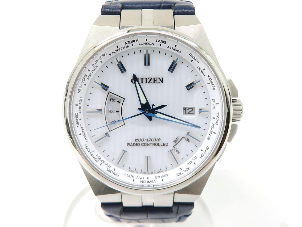 シチズン CB0160-18A SS 革ベルト エコドライブ シチズンコレクション メンズ 時計【池袋店】【中古】