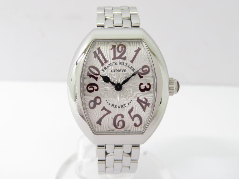 フランクミュラー 5002SQZJA ハートトゥハート SS クォーツ レディース 時計【池袋店】【中古】