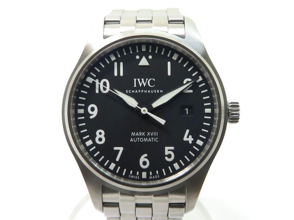 IWC IW327015 パイロットウォッチ マークXVIII (マーク18) SS 自動巻き メンズ 時計 【池袋店】【中古】