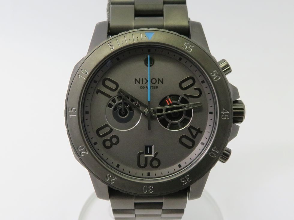 ニクソン A549SW2365-00 レンジャークロノ スターウォーズ ミレニアムファルコン SS/クォーツ メンズ 腕時計【池袋店】【中古】