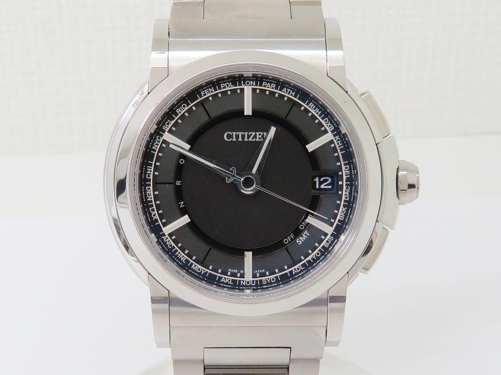 シチズン CB1000-51E SS 電波ソーラー エコドライブ メンズ時計【池袋店】【中古】