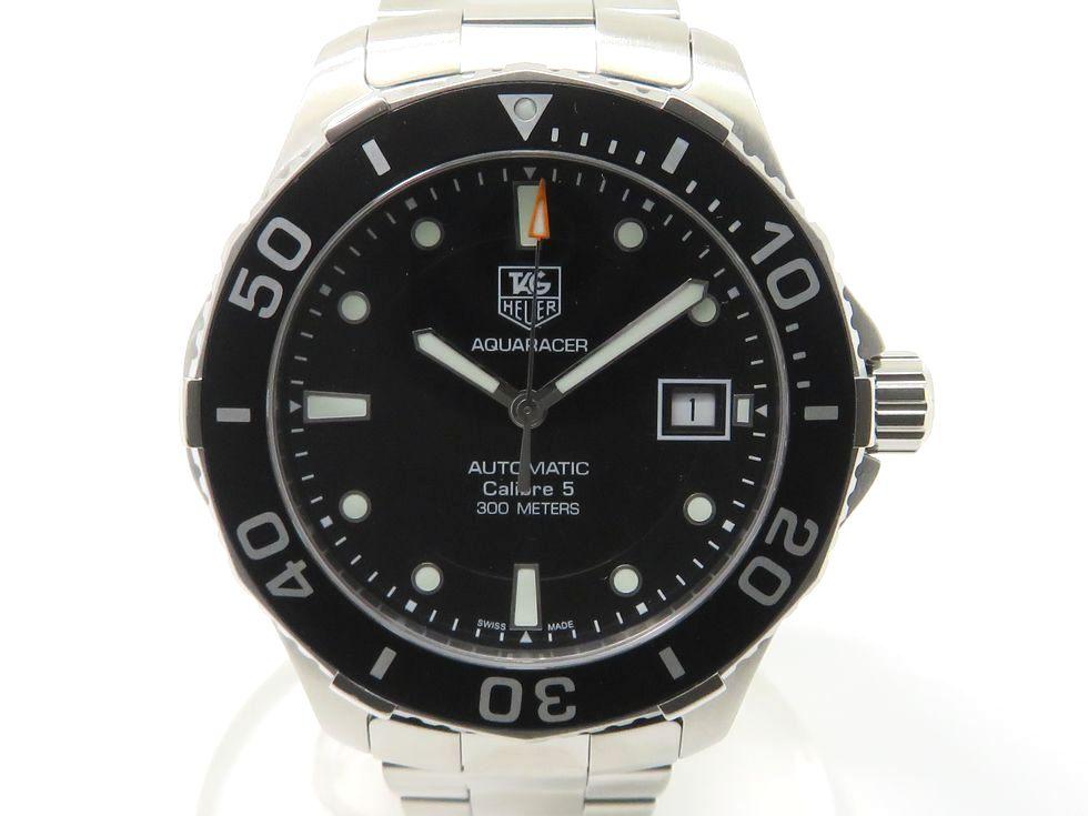 【新着】タグホイヤー WAN2110 アクアレーサーキャリバー5 SS 自動巻 メンズ時計 【池袋店】【中古】