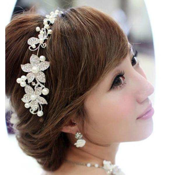 結婚式 お呼ばれヘアスタイル 可愛い ヘアアクセサリー人気