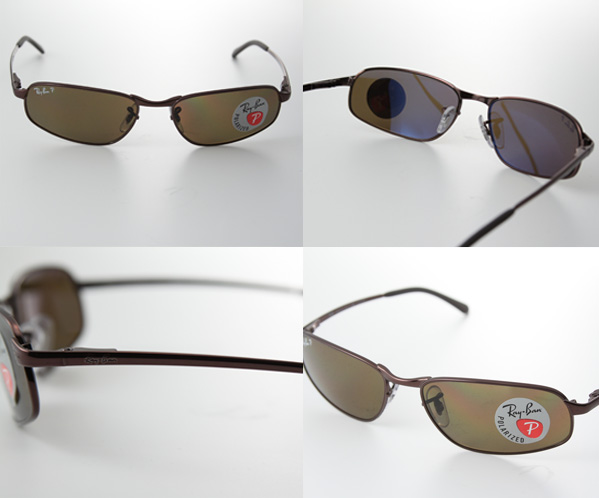RAY-BAN Ray Ban Polarized Sunglasses RB3168 014 / 83