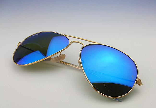 Aviator Sunglasses Blue Mirror  auc select eye rakuten global market ray ban rayban