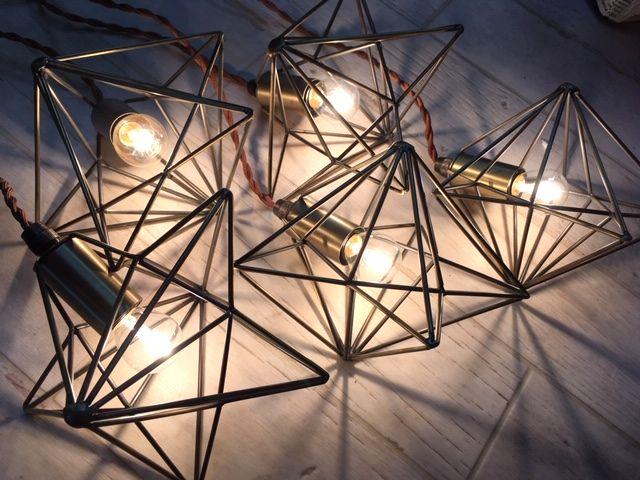 Haudang Lot de 5 d/étecteurs de cl/és avec /éclairage LED Blanc