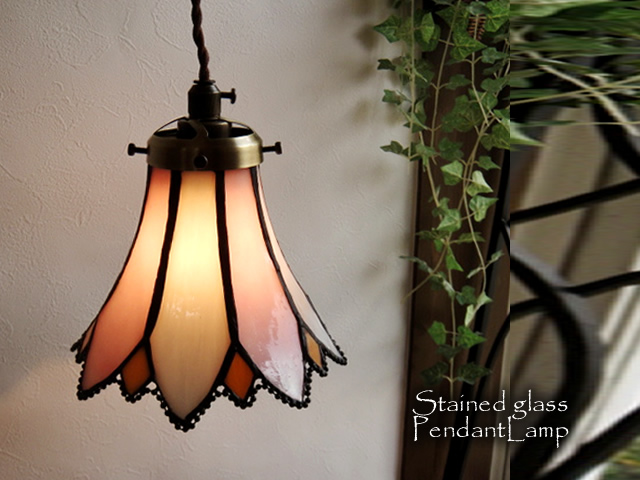 Stained Glass Pendant Light 70 Pink Led Adaptive Antique Nostalgic French Country Glass Lighting Pendant Light Chandelier Indirect Lighting Ceiling