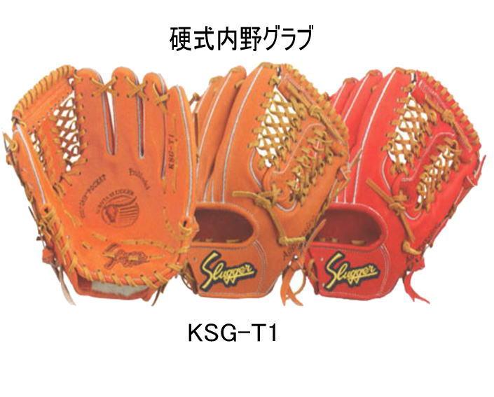 久保田スラッガー硬式内野用グラブKSG-T1 湯もみ型付け有