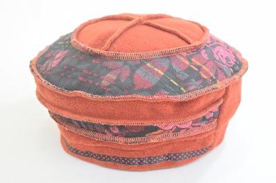 ヨーロピアンテイスト ベレー帽 ベレー 3631032 レンガ 帽子 レディース 婦人 ハット フリース素材 防寒対策 暖かい 室内でかぶれる 小さいサイズ Sサイズ ファッション オシャレ カジュアル ブルガリア製 インポート 直輸入 送料無料 ネット通販 秋冬