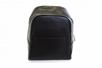 フロントポケットがかわいい♪ ARTICLES DE PARIS(アーティクル ドゥ パリ) リュック SCC514 ブラック 黒 フランス直輸入 レディース 婦人 お出かけ ファッション オシャレ シンプル ネット通販 オールシーズン