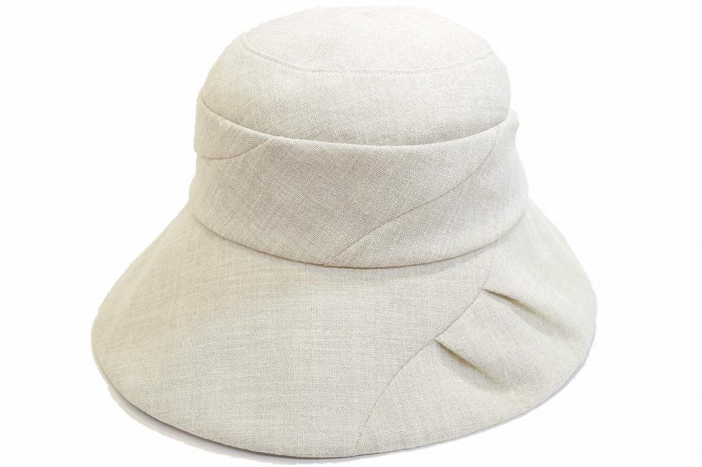 お洒落で機能的 Blue Nest ブルーネスト 高級布帛 帽子 713207 ベージュ 帽子 レディース 婦人 ファッション オシャレ カジュアル シンプル 旅行 プレゼント サイズ調節 手洗い 送料無料 ネット通販 春夏
