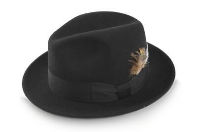 いろんなスタイルに合う♪ STETSON ステットソン SE217 ブラック 黒 メンズ 紳士 ウール中折 帽子 高級 ハット 暖かい かっこいい帽子 防寒対策 ファッション カジュアル おしゃれ スーツに似合う プレゼント 舞台 衣装 旅行 人気商品 ネット通販 送料無料 秋冬