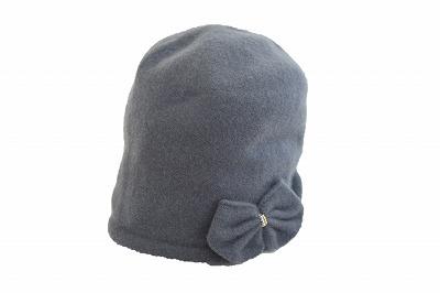 軽くて暖かい♪ ウールフード 170D-BR03 チャコールグレー 帽子 レディース 婦人 ハット 防寒対策 暖かい シンプル カジュアル ファッション アウトドア 旅行 プレゼント おすすめ 日本製 ネット通販 秋冬