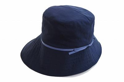 シンプルで使いやすい♪ Blue Nest ブルーネスト 913422 ネイビー 紺 レディース 婦人 帽子 シンプル ファッション カジュアル オシャレ 遮光率99.99% 旅行 折りたたみ サイズ調整 紫外線対策 UVケア 日除け 洗える ネット通販 春夏