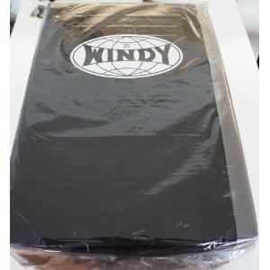 WINDY ウインディ キックボクシング ビッグミット 黒 ビックミット