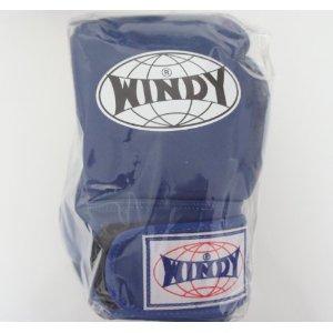 WINDY ウインディ 本革製キックボクシング 商い 購買 10オンス グローブ 青