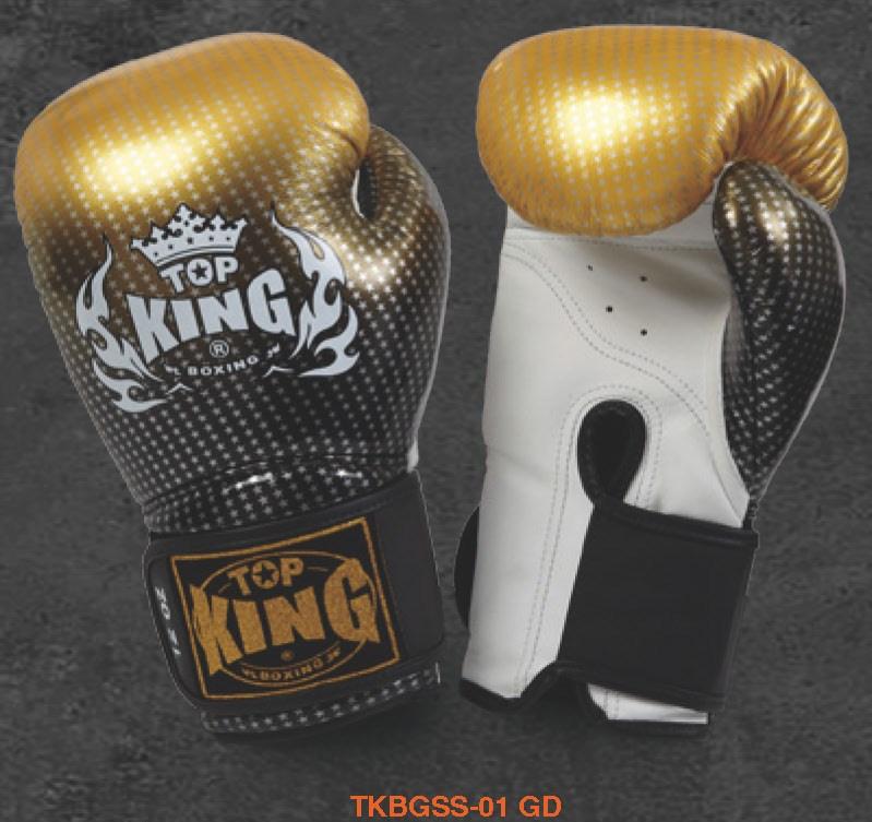 トップキング TOP KING キックボクシング グローブ スーパースター 金 12オンス
