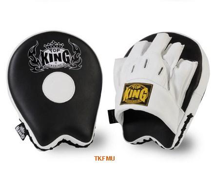 トップキング TOP KING キックボクシング パンチングミット TKFMU 白