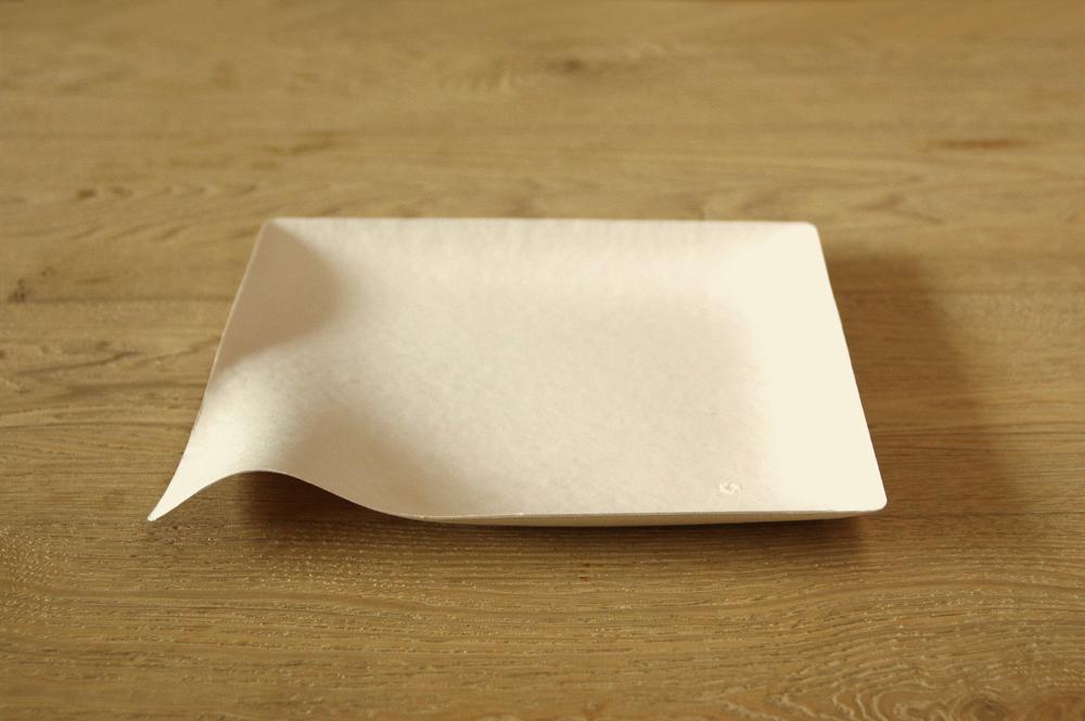 プロユース袋入り(100枚)WASARA【角皿特大】