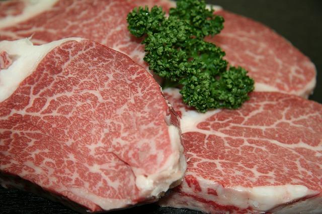 【絶品!!未経産黒毛和牛】四万十牛特選ヒレステーキ肉(150g×3枚)