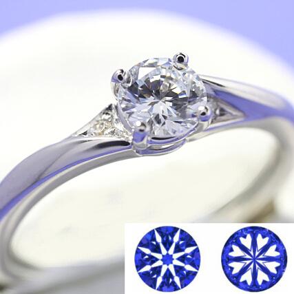 ダイヤモンド リング ダイヤ ハート キューピッド ハートアンドキューピッド オーダー K18 セミオーダーダイヤモンドリング Pt900 ダイアモンド 0.5ct K18WG 結婚指輪 キューピッドB-04 新色追加 即日出荷 エンゲージリング