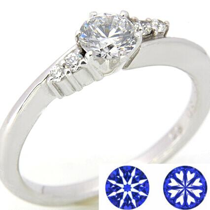ダイヤモンド リング ダイヤ ハート セットアップ キューピッド ハートアンドキューピッド オーダー 送料無料 激安 お買い得 キ゛フト K18 Pt900 セミオーダーダイヤモンドリング ダイアモンド エンゲージリング K18WG 結婚指輪 キューピッドD-04 0.3ct