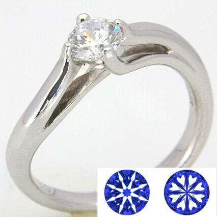 【0.3ct】セミオーダーダイヤモンドリング ハート&キューピッドD-10★