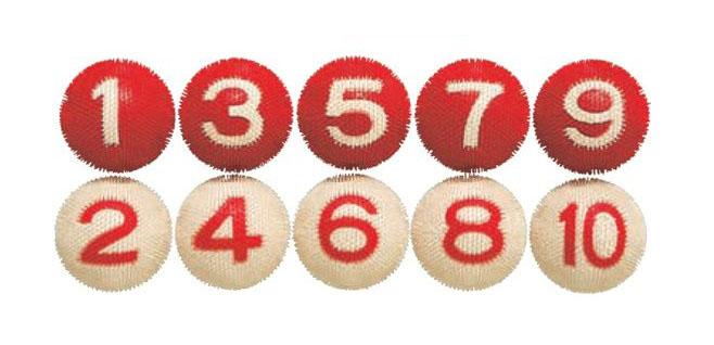 ゲートボール ニチヨー NICHIYO 室内用ボール 10個セット NM-10 ゲートボール用品