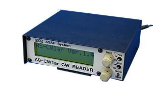 モールス解読器 AS-CW1ar ASAPSYSTEM アサップシステム ASCW1ar