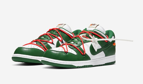 OFF-WHITE × NIKE DUNK LOW (GREEN)