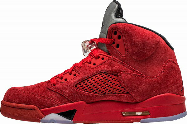 "NIKE AIR JORDAN 5 RE ""Red Suede"""