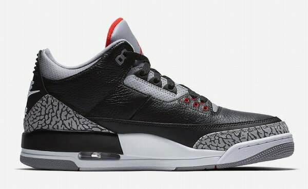 "NIKE AIR JORDAN 3 OG ""Black Cement""ナイキ スニーカー"