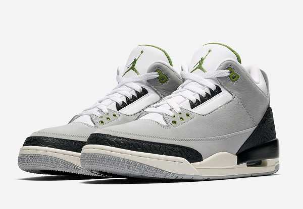 "NIKE AIR JORDAN 3 RE ""Chlorophyll"" ナイキ スニーカー"
