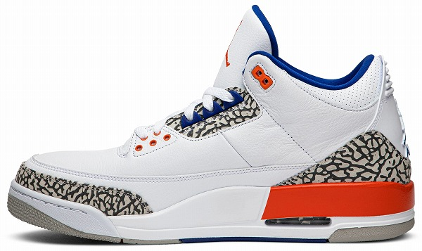ナイキ スニーカー AIR JORDAN 3 RETRO 'KNICKS RIVALS'☆入荷