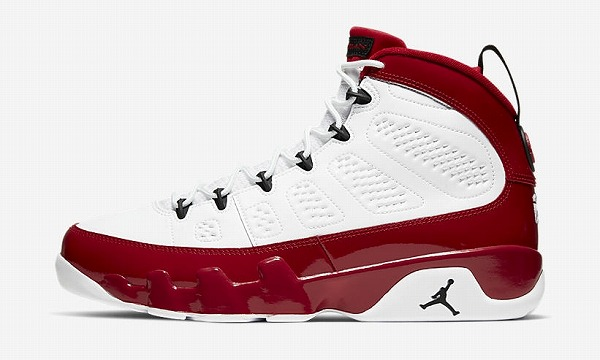 NIKE AIR JORDAN 9 RE (White/Black/Gym Red)