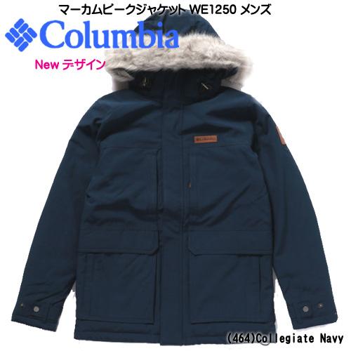 コロンビア マーカムピークジャケット WE1250-464 カレッジネイビー メンズ マウンテンパーカ アウター フード付き 撥水 防寒