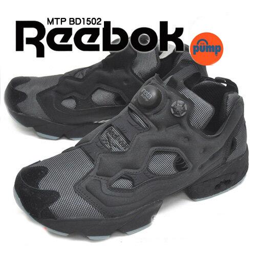 送料無料 リーボック Reebok インスタポンプ フューリー MTP BD1502 メンズ ランニングシューズ スニーカー ジョギング マラソン ブラック/ファイヤー スパーク/ストーン
