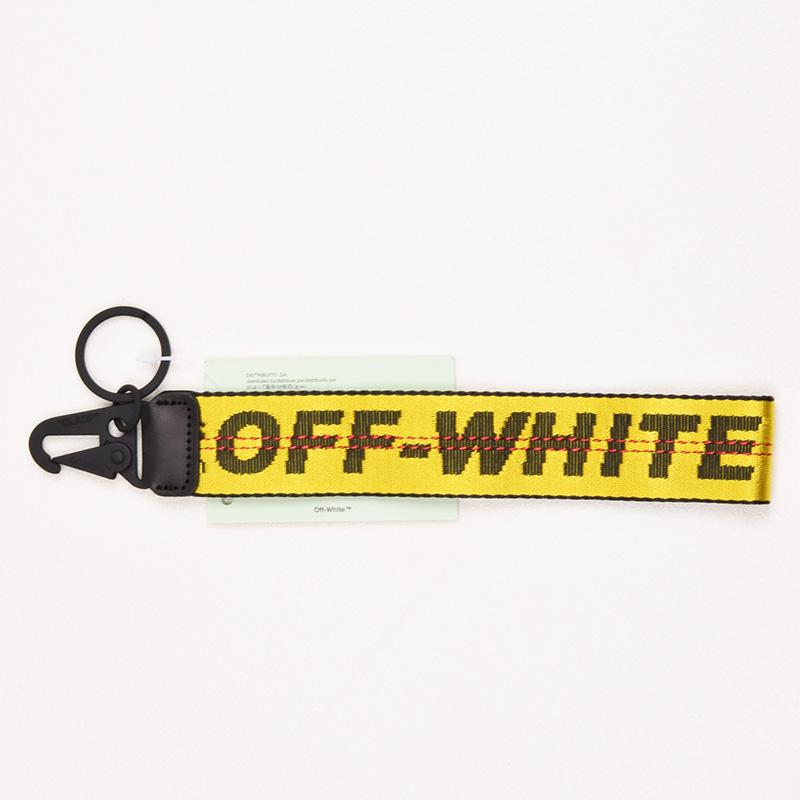 OFF-WHITE オフホワイト INDUSTRIAL キーチェーン OMNF001F186470046000 イタリア正規品 新品