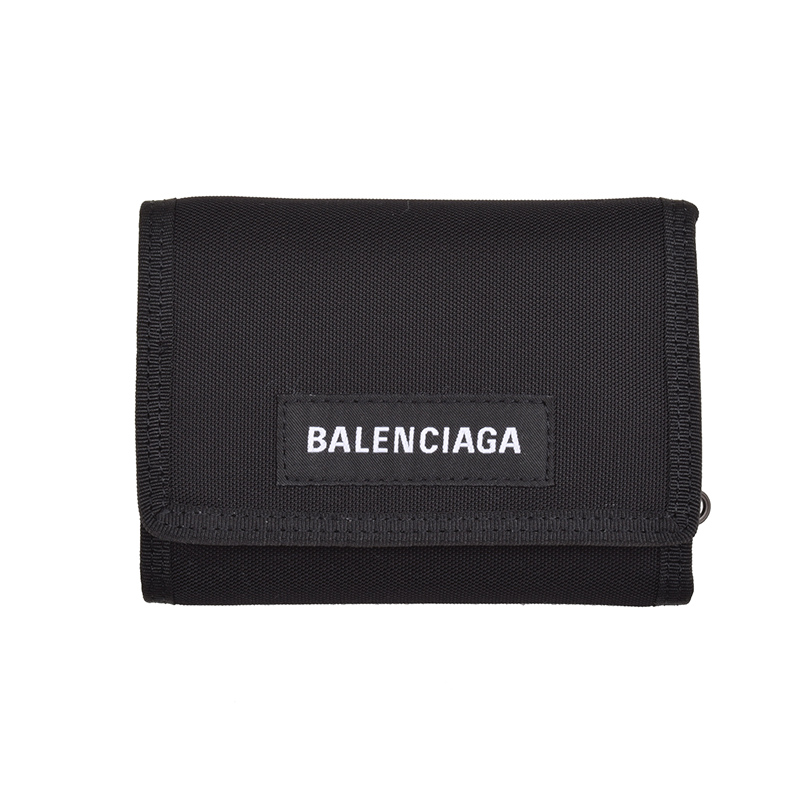 BALENCIAGA バレンシアガ 三つ折財布 イタリア正規品 507481 9TYY5 1000 新品