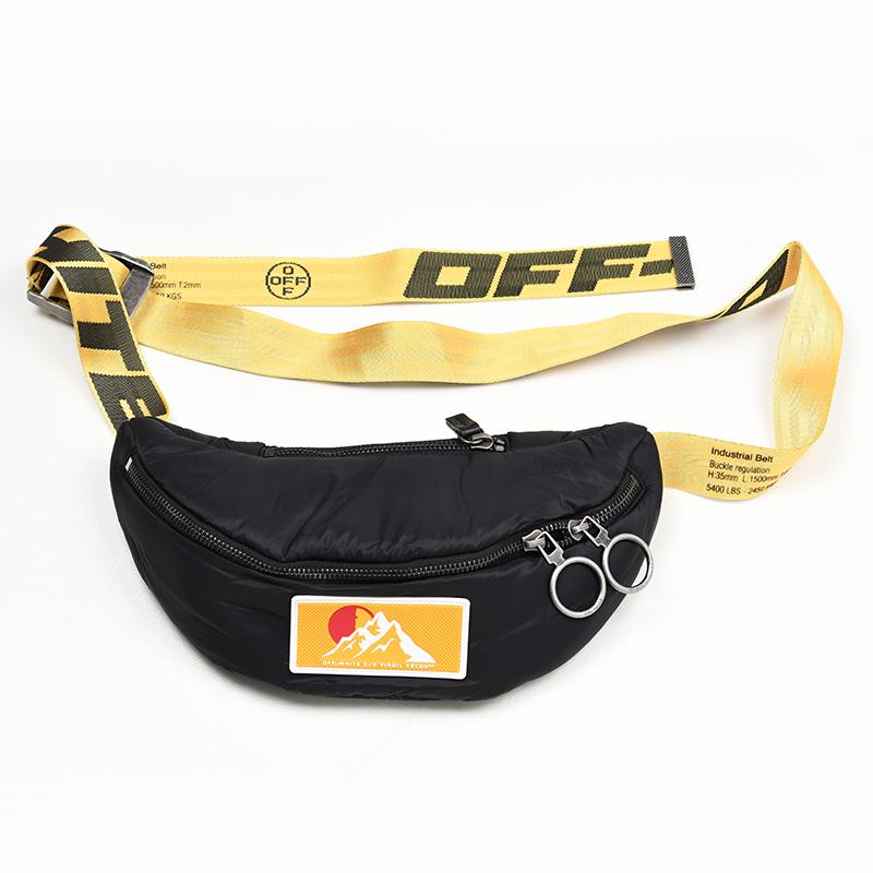 OFF-WHITE オフホワイト PUFFY ウエストバッグ 鞄 イタリア正規品 OMNA074F19F430021000 新品