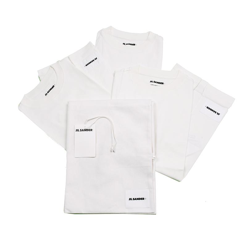 春の新作 レディース 2021SS JIL SANDER ジルサンダー Tシャツ イタリア正規品 新品 3枚セット JPPR706550 WR248808 高品質