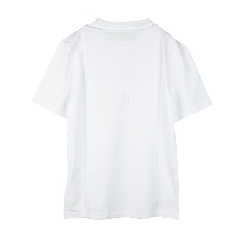 正規品送料無料 メンズ MAISON MARGIELA メゾン マルジェラ ホワイト半袖Tシャツ イタリア正規品 新品 マーケット S22533 S50GC0622 100