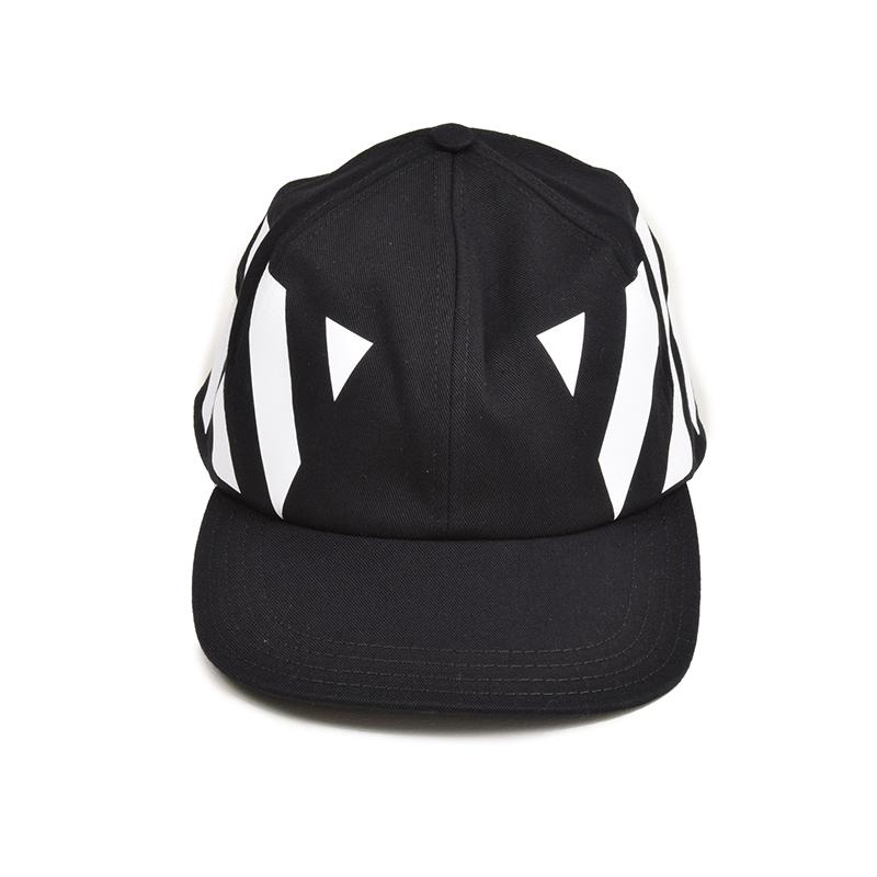 OFF-WHITE オフホワイト DIAG ブラックキャップ 帽子 OMLB008F185150491001 イタリア正規品 新品