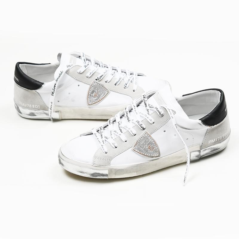 PHILIPPE MODEL PARIS フィリップモデル メンズ PRLU 靴 スニーカー 交換無料 MA02 イタリア正規品 メーカー公式 新品
