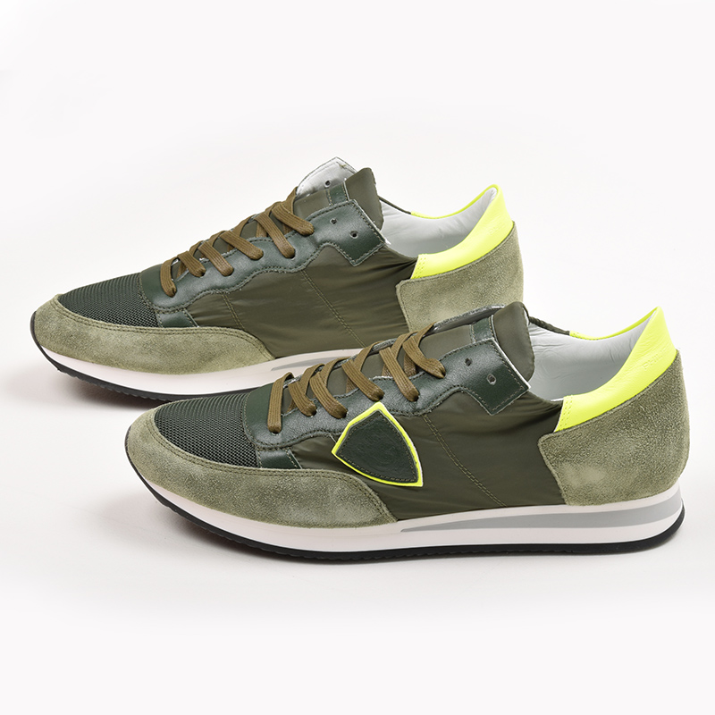 PHILIPPE MODEL PARIS フィリップモデル メンズ Tropez スニーカー 靴 イタリア正規品 TRLU NX02 新品