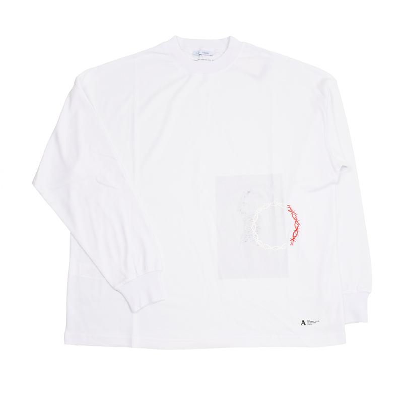 ALYX アリクス ホワイト長袖Tシャツ DANCING GIRL イタリア正規品 新品