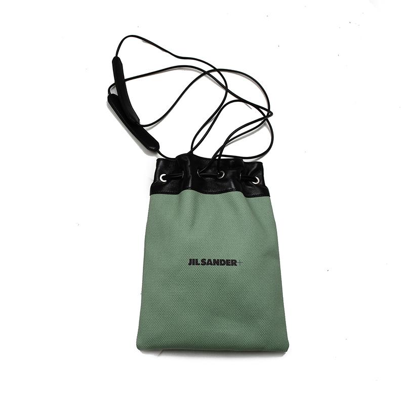 レディース 女性 モデル JIL SANDER ジルサンダー DRAWSTRING POUCH 新品 通販 鞄 331 セールSALE%OFF イタリア正規品 ショルダーバッグ WSB75036N JPPS852018
